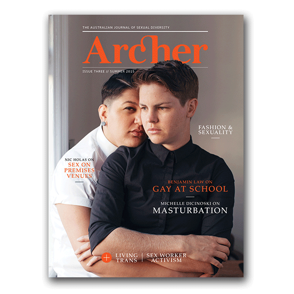 Archer Magazine Issue 3 - Front Cover | Nikki Darling Australia