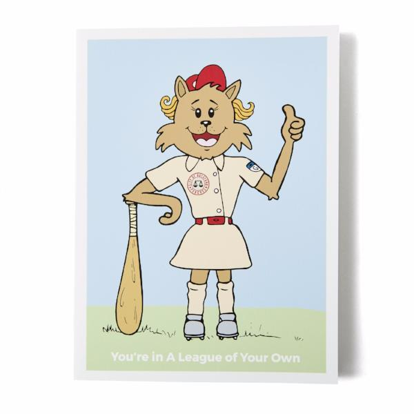 Kittenpants Studios You're In A League Of Your Own Greeting Card | Nikki Darling Australia