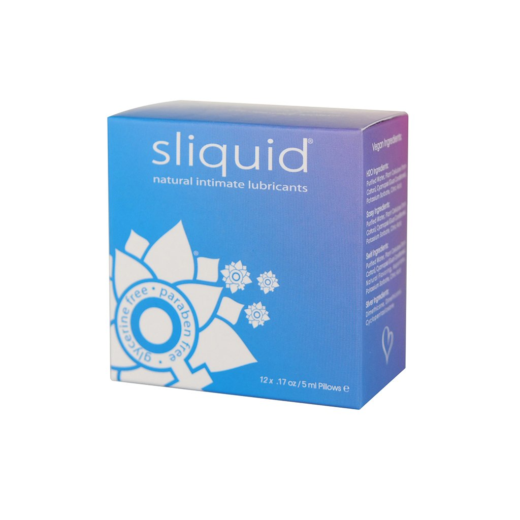 Sliquid Natural Lube Cube - front of packaging | Nikki Darling Australia