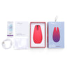 We-Vibe Gala with box contents (charging cable, lubricant sachet, storage bag, manual, packaging) | Nikki Darling Australia