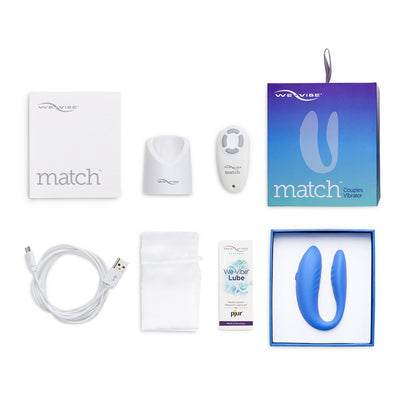 We-Vibe Match box contents | Nikki Darling Australia