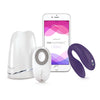 We-Vibe Sync Vibrator purple with charging dock, remote control and We-Connect | Nikki Darling Australia