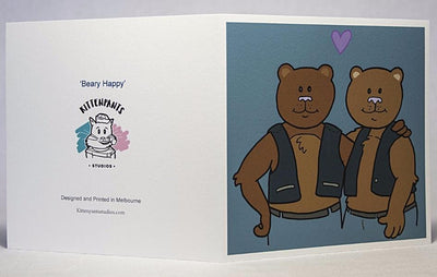 Beary Happy Greeting Card
