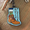New York Toy Collective Butch Please Keyring | New York Toy Collective