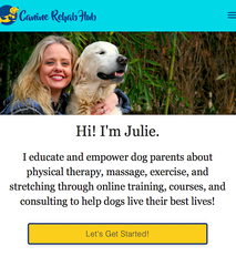 CANINE REHAB HUB: educating dog parents to help dogs live their best lives