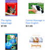 FITNESS & HEALTH BOOKS & DVDs: including training, agility, massage and more