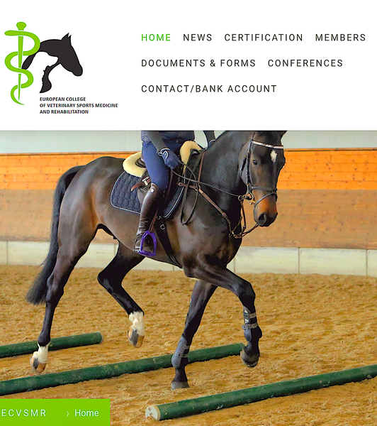 EUROPEAN COLLEGE OF VETERINARY SPORTS MEDICINE AND REHABILITATION