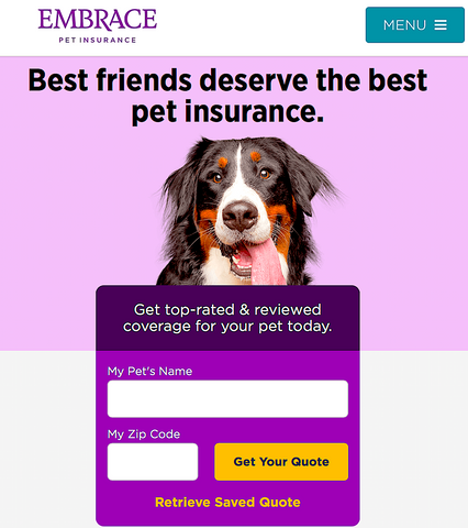 EMBRACE PET INSURANCE: protecting dogs and cats across the US