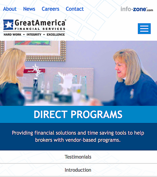 GREAT AMERICA FINANCIAL: financing the veterinary market since 2002