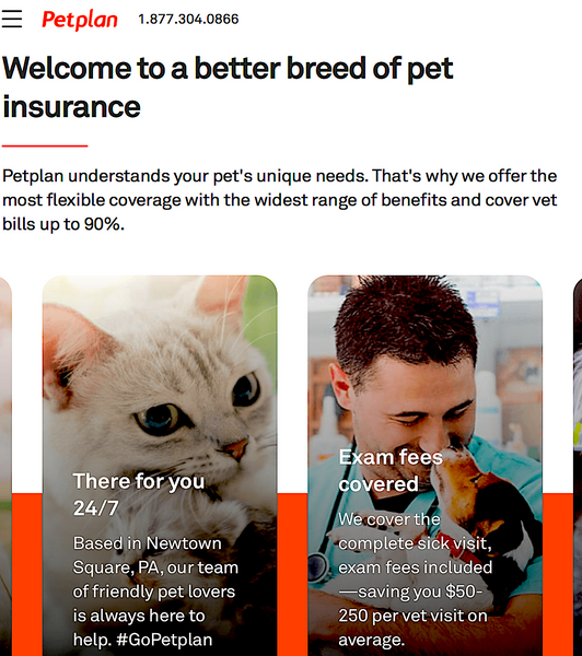 PET PLAN PET INSURANCE: we understand your pet's unique needs