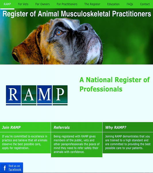 REGISTER OF ANIMAL MUSCULOSKELETAL PRACTITIONERS