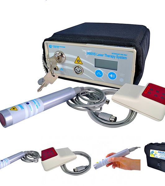 RESPOND SYSTEMS LASERS: 30 years experience in developing veterinary lasers