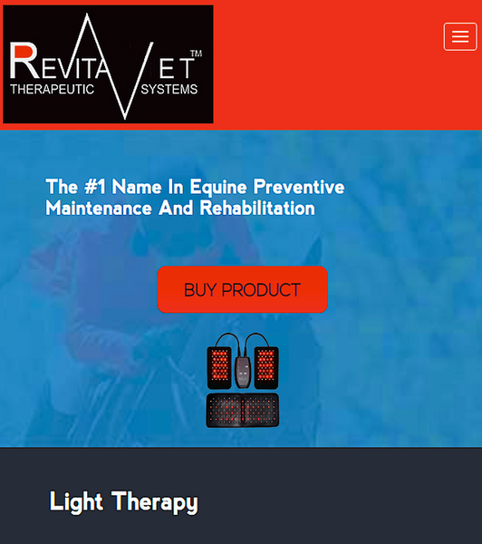 REVITAVET LIGHT THERAPY: #1 name in equine maintenance and rehab