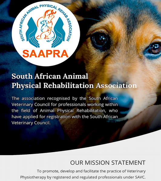 SOUTH AFRICAN ANIMAL PHYSICAL THERAPY ASSOCIATION