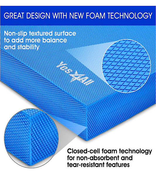 YES4ALL EXERCISE & BALANCE PAD