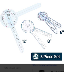 EMI GONIOMETER 3-PIECE SET: 6