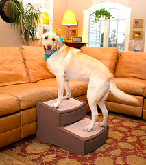 PET GEAR EASY STEP II: extra-wide means extra safe for your pet