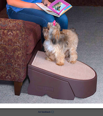 PET GEAR STEP & RAMP COMBO: extra-wide, lightweight, portable, sturdy, indoor/outdoor use