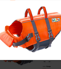 OUTWARD HOUND GRANBY SPLASH LIFE JACKET: with head support and large rescue/safety handles