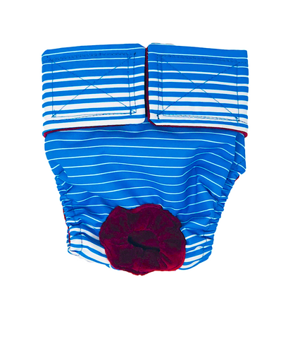 SWIM DIAPERS FOR HYDROTHERAPY & RECREATIONAL SWIM: waterproof fabric that stays in place in the water