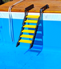 WATERDOG DOG LADDER FOR POOL & BOAT: easy water access for your pet and easy install