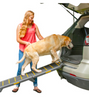 PET GEAR TRI-FOLD EXTRA WIDE RAMP: compact and easy to fold and holds 200lbs