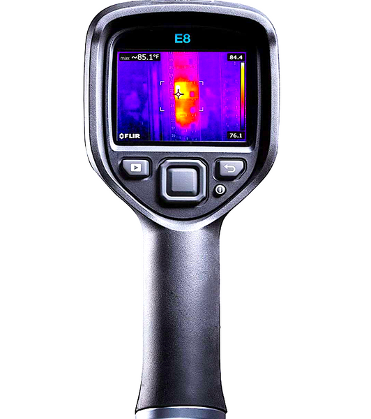FLIR E8 COMPACT THERMAL IMAGING CAMERA: with 320x240 IR resolution, MSX and Wi-Fi