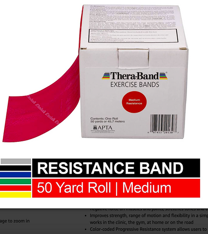 THERABAND RESISTANCE BANDS: professional resistance bands for all your therapeutic exercise needs