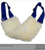 SGT KNOTS SHEEPSKIN SUPPORT SLING: for dogs with injuries, disabilities, arthritis, or Joint Pain,