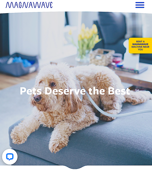 MAGNAWAVE: PEMF technologies for animals that deserve the best