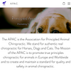 ASSOCIATION FOR PRINCIPLED ANIMAL CHIROPRACTIC (APAC)