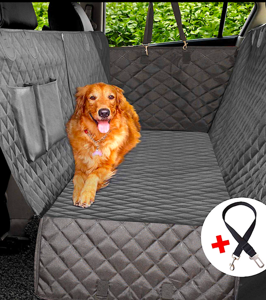 VAILGE 100% WATERPROOF DOG SEAT COVER/HAMMOCK: helps keep your pet safe and secure while in the vehicle