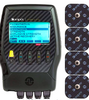 COMPEX ELITE MUSCLE STIMULATOR w/ TENS: 10 muscle stimulator programs and 1 TENS program