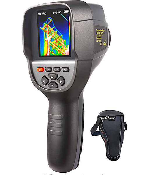 HIGH REZ IR INFRARED THERMAL IMAGING CAMERA: lightweight, portable, rechargeable, 3.2