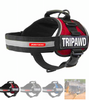 TRIPAWD CONVERT EZY DOG HARNESS: with easy application and quick-connect straps