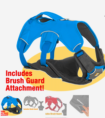 RUFFWEAR WEB MASTER PLUS HARNESS: with brushguard