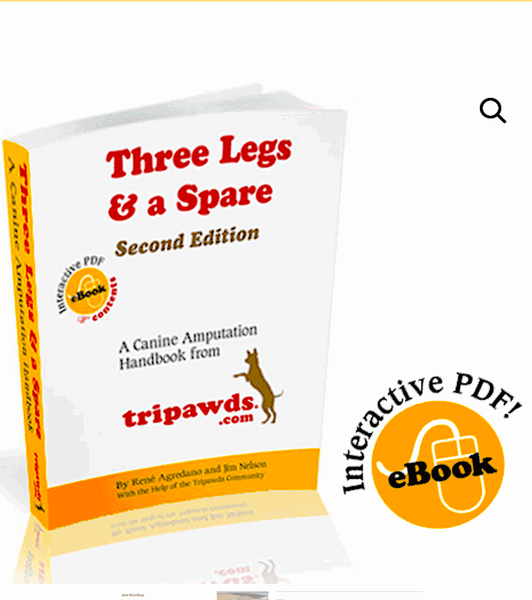 TRIPAWDS E-BOOKS: helpful guides for tripod dogs and cats