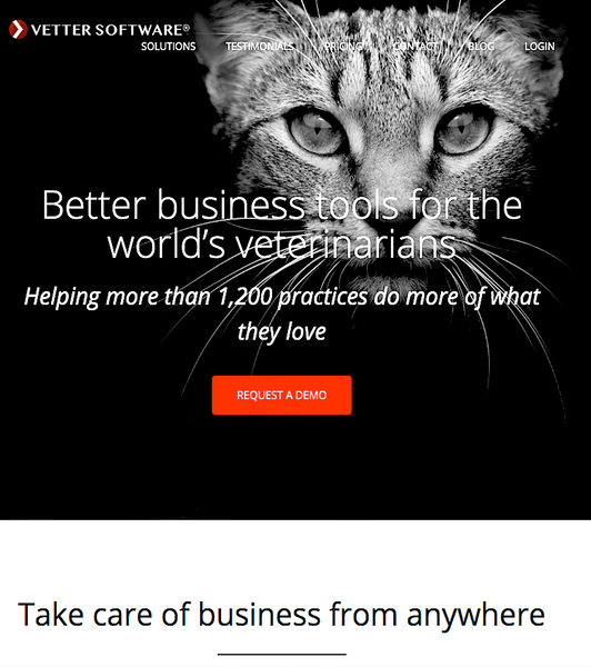VETTER: software solutions for the world's veterinarians