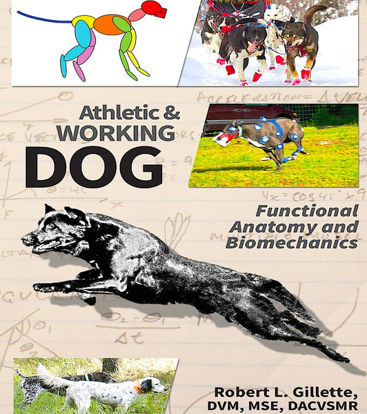 ATHLETIC & WORKING DOG: functional anatomy & biomechanics by Dr. Robert Gillette