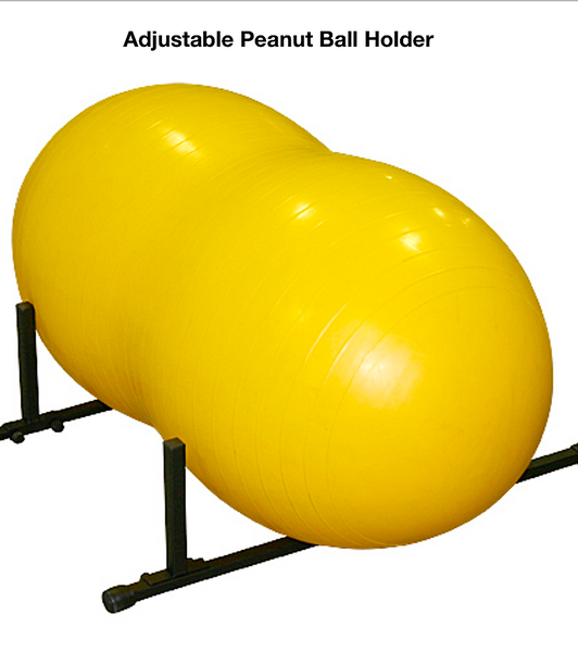PEANUT BALL HOLDER: strong, durable, and lightweight aluminum
