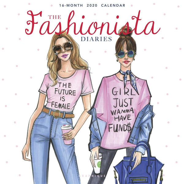 The Fashionista Diaries Wall Calendar