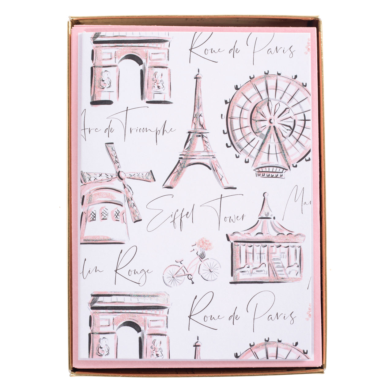 Meet me in Paris Boxed Cards