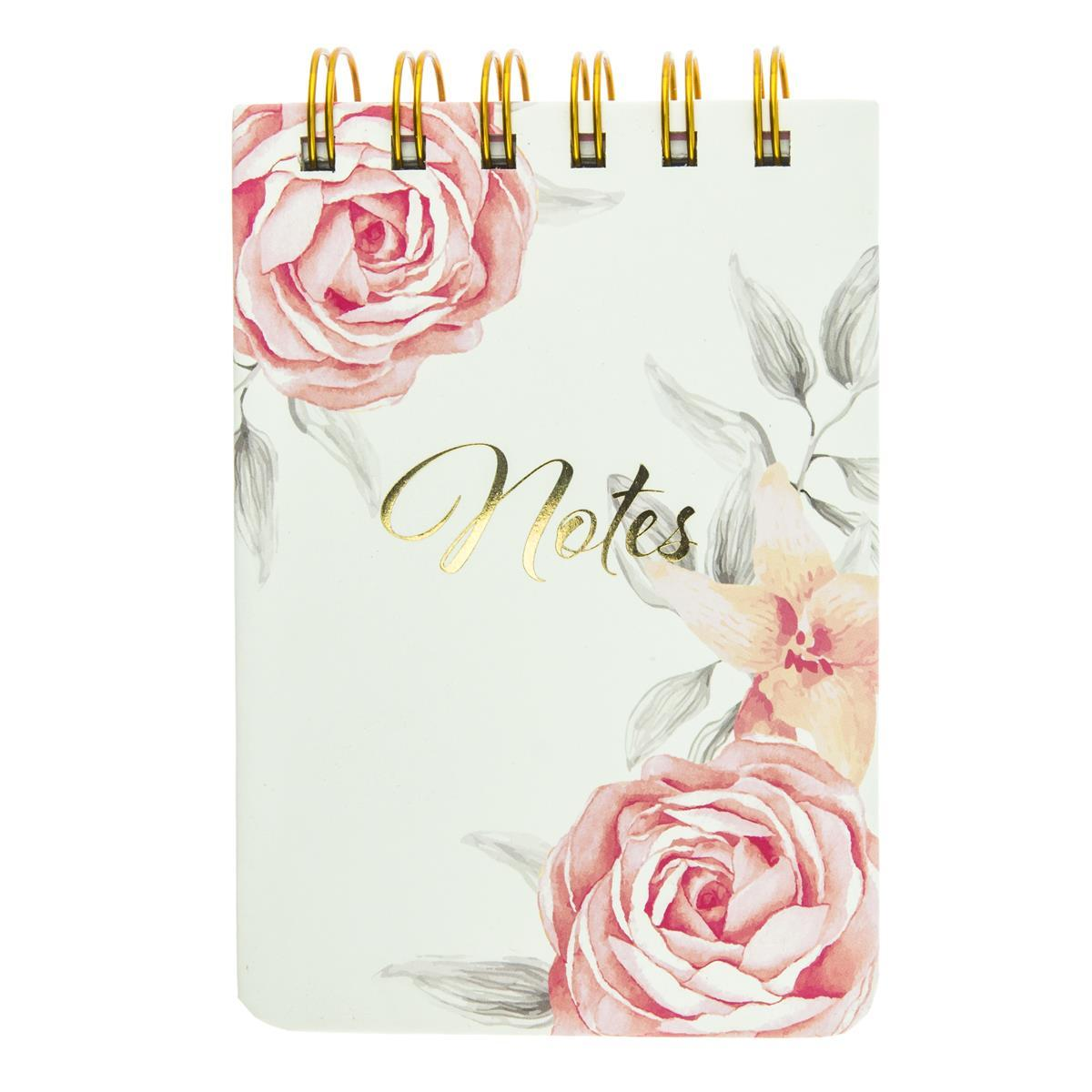 Vintage Roses Petite Wiro Notepad