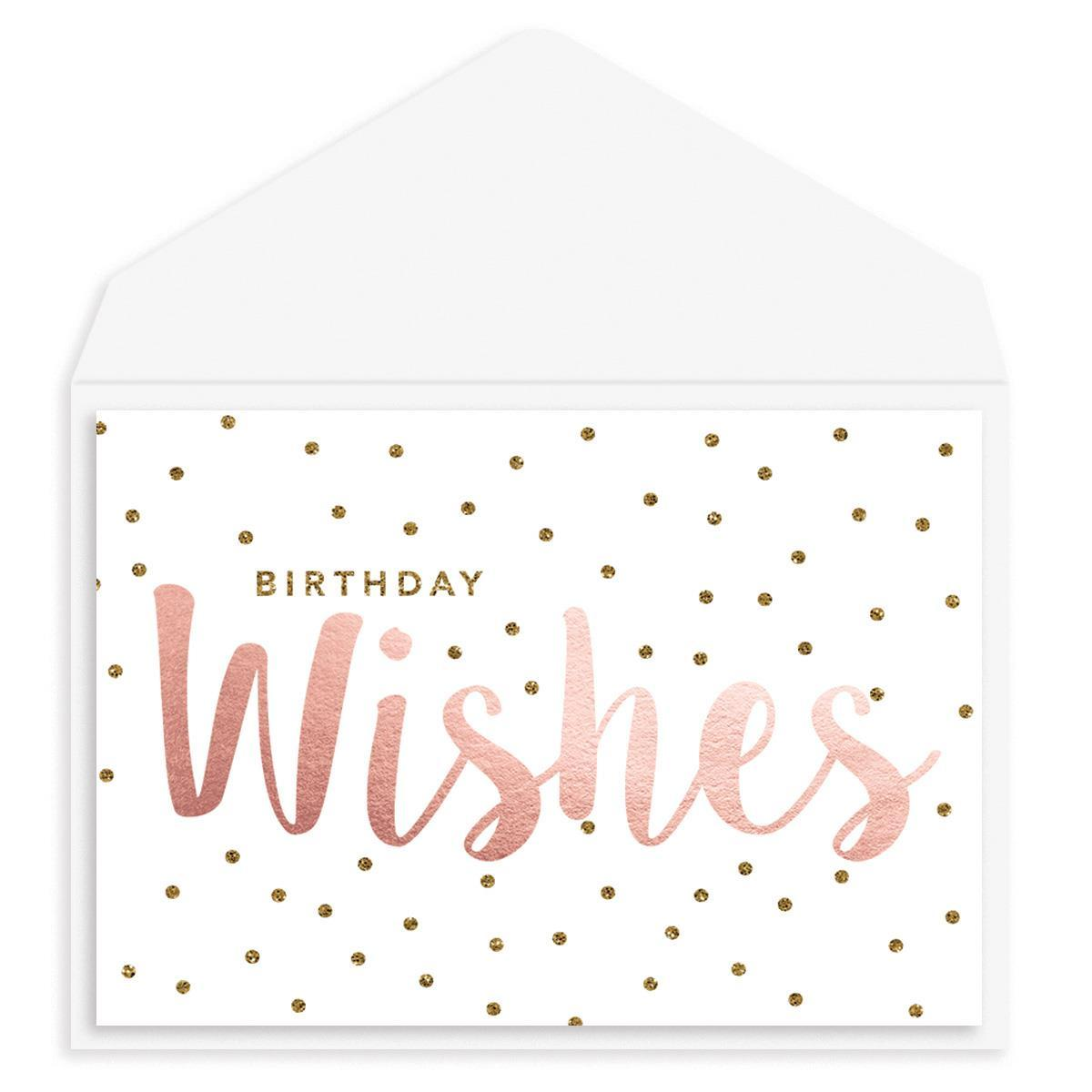 New Age Wish Birthday Card