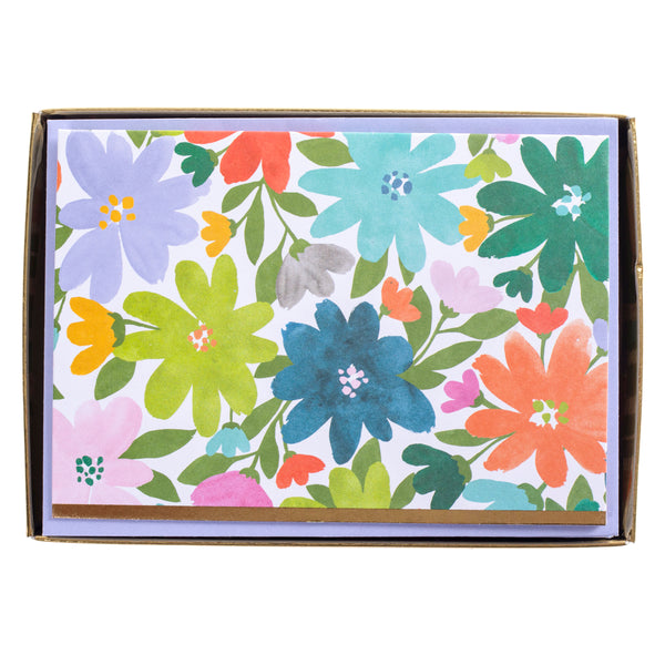 Flower Power Boxed Cards