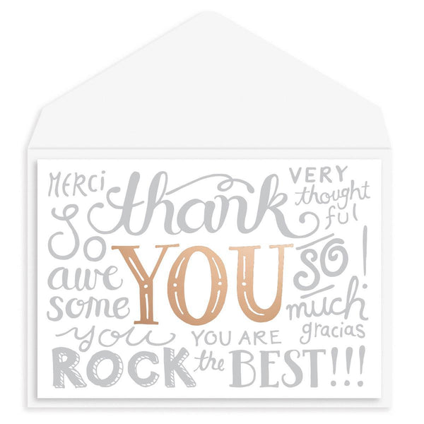 So Many Ways to Say... Thank You Card