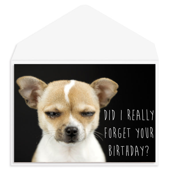 Did I really forget Birthday Card
