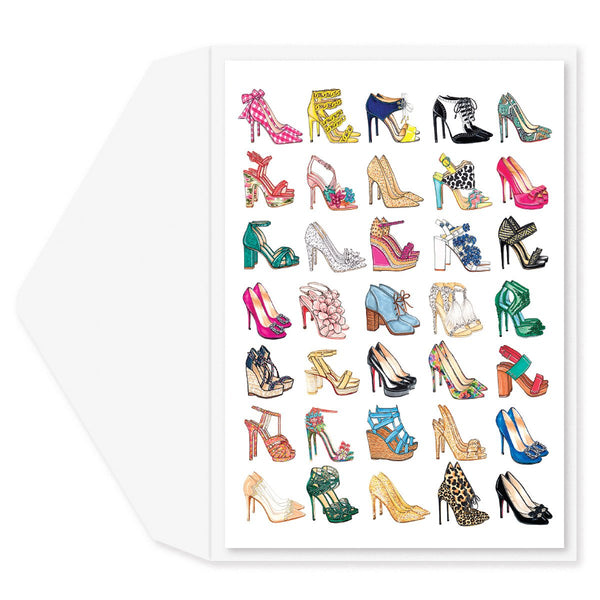Shoes Blank Card