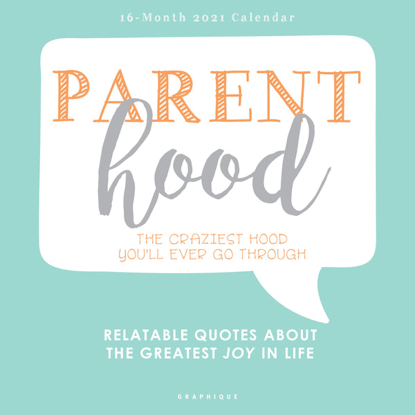 Parenthood Wall Calendar