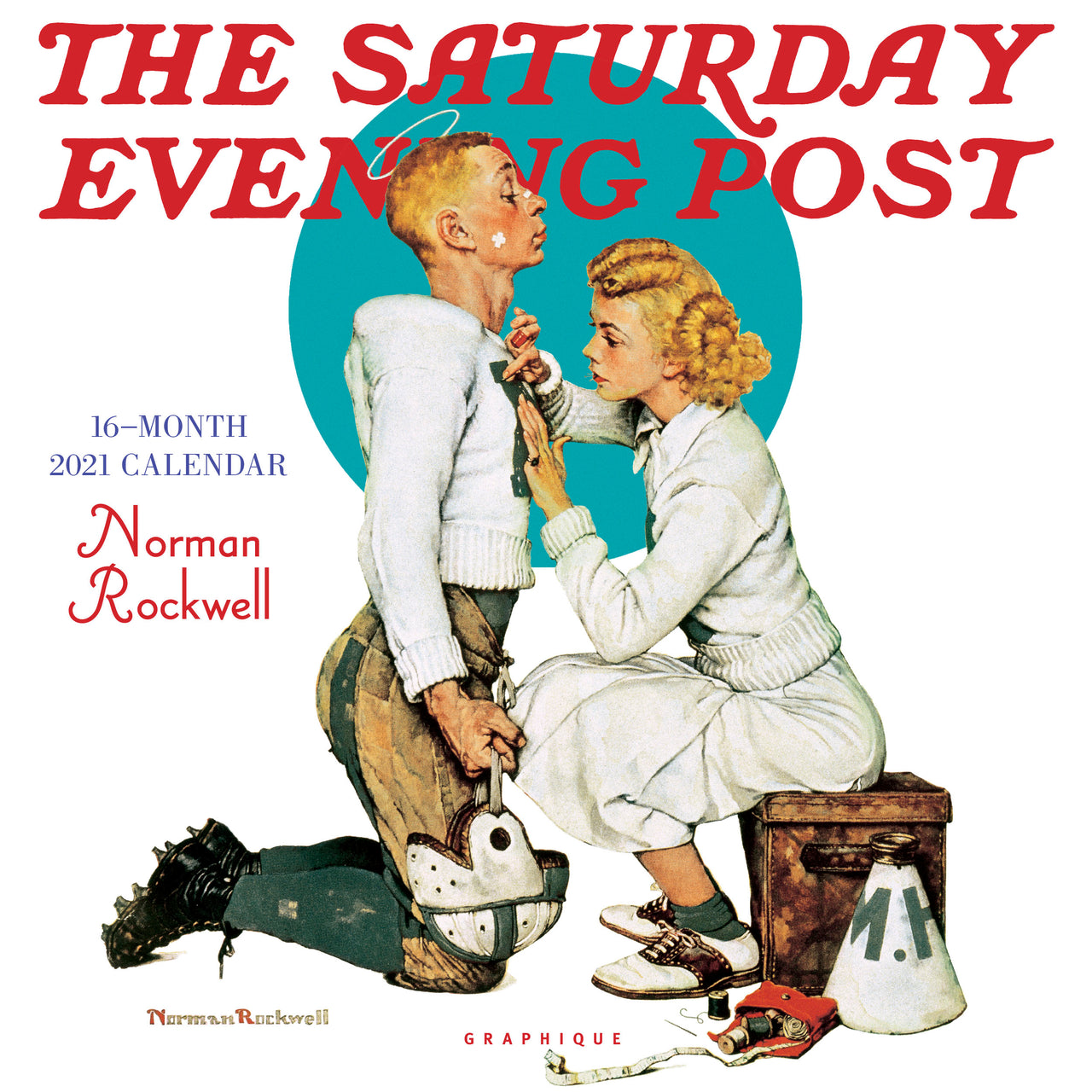 Saturday Evening Post Wall Calendar